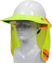 fr treated hard hat visor