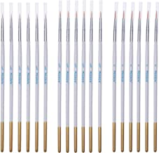 MEEDEN Detail Paint Brush Set - 18 Miniature Art Brushes for Fine Detailing & Art Painting - Acrylic, Watercolor, Oil - Mi...