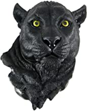 Worlds Of Wonder Black Panther Head Mount Wall Statue Bust