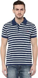Men's Striped Regular fit Polo