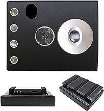 for Chord Hugo 2 Hugo2 Hugo II, Hand Crafted MITER Leather Case Cover (Black)