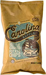 Carolina Kettle Kettle Cooked Potato Chips, Outer Banks Sea Salt, 5 Oz