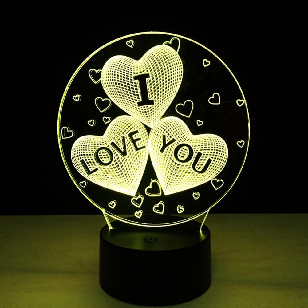 lampara de corazones para parejas