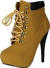 Amazon.com: High Heel Work Boots