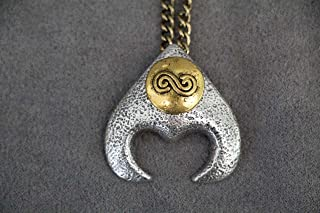 Goblin King Jareth Labyrinth Pendant - David Bowie's Labyrinth Necklace Pendant