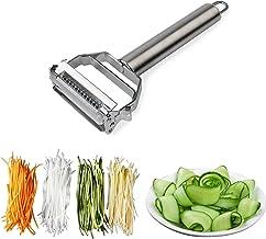 Stainless Steel Julienne Peeler Metal Fruit Vegetable Tools Rotary Sharp Grater Potato Carrot Slicers Cutter Kitchen Gadgets