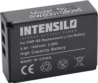 INTENSILO batería Li-Ion 1600mAh (3.6V) para videocámara Fujifilm Finepix SL300 SL305 y NP-85 CB170 PA3985.
