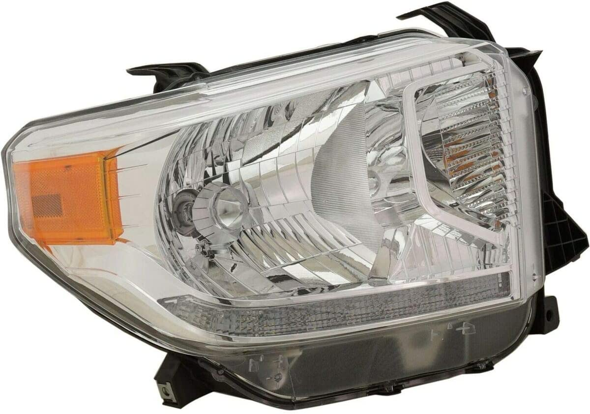 Premium Plus Headlight free shipping Compatible with Toyota Popular products 1 2014-2017 Tundra