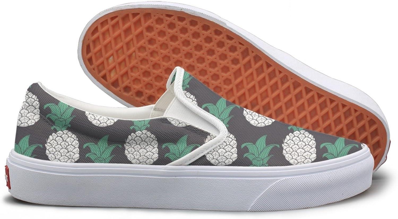 Pineapple purple Geometric Comfortable Sneakers For Women Walking