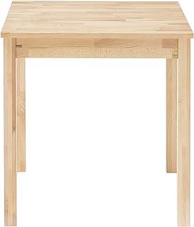 Robas Lund, Table Salle à manger, Alfons, Coeur d'hêtre massif huilé, environ 70 x 76 x 50 cm