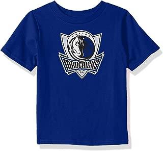 Outerstuff NBA NBA Toddler Dallas Mavericks Primary Logo Short Sleeve Basic Tee, Royal, 4T