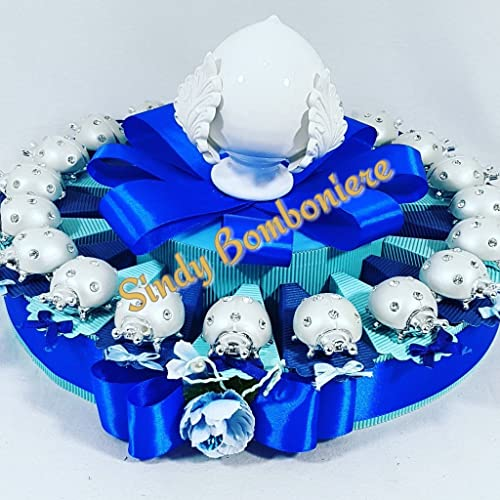 ventas en linea Tarta BOMBONIERA BOMBONIERA BOMBONIERA con mariquitas Pumo grojotaglie nacimiento bautizo Comunión Confirmación cumpleaños  minoristas en línea