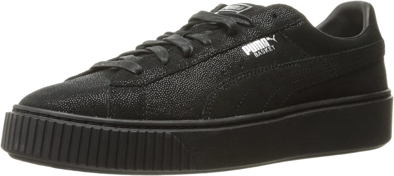 PUMA Womens Basket Platform Reset Sneakers