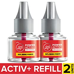 Goodknight Power Activ+, Mosquito Repellent Refill (Pack of 2)