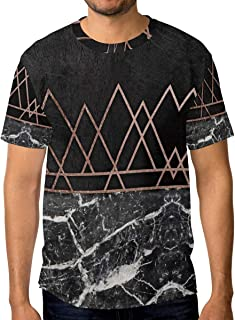 INTERESTPRINT Mens Surface Marble Pattern at The Marble Stone Hooded Pullover Sweatshirt