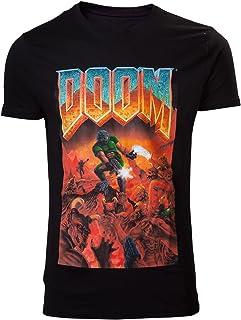 DOOM Classic Boxart T-Shirt Nero
