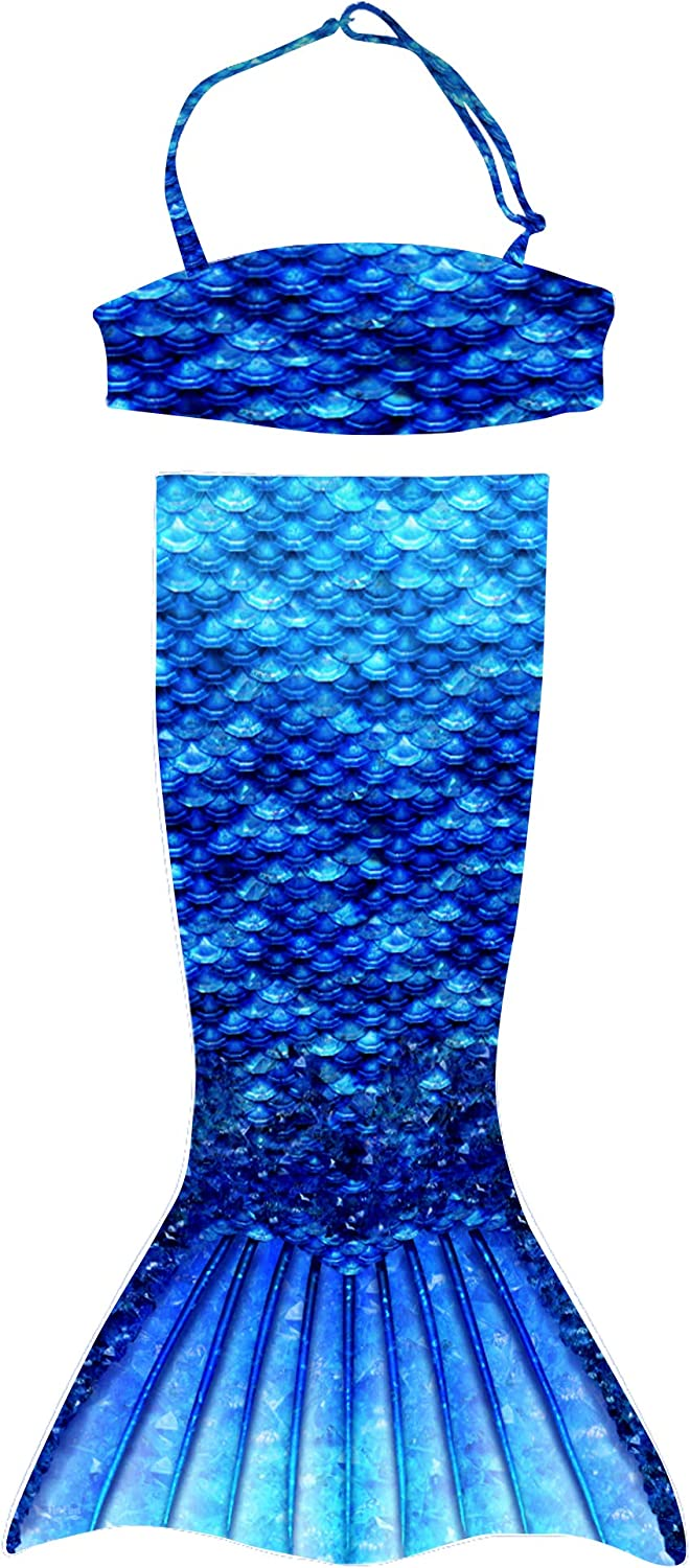 Fin Fun Toddler Mermaiden's Ranking TOP11 Arctic National products Match Blue Mermaid with Tail