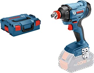 """Bosch Professional GDX 18 VA€""""180 Cordless Impact Driver (without Battery, 18 V System, Impact Rate: 0 - 3600 ipm, in L - ..."""