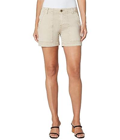 Liverpool Utility Shorts with Flap Pockets (Safari) Women
