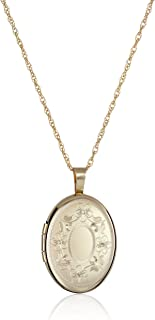 Best 14k gold locket oval Reviews