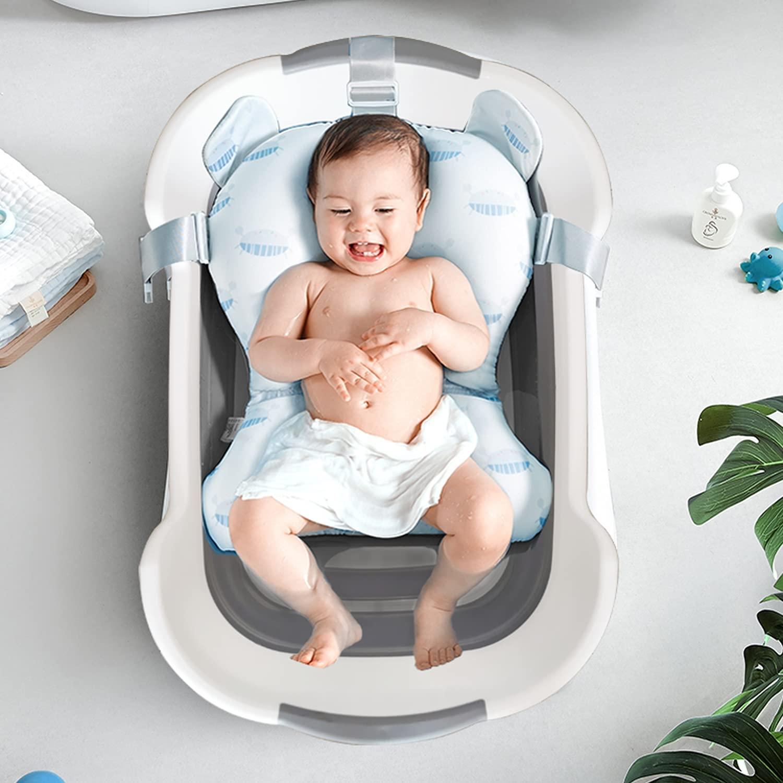CYANOE Collapsible Baby Spring new work Finally popular brand Bathtub with Drainage Hole Foldable Bat