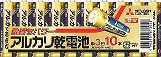 三菱電機 アルカリ乾電池(シュリンクパック) 単3形 10本パック LR6N/10S [2019年新商品]