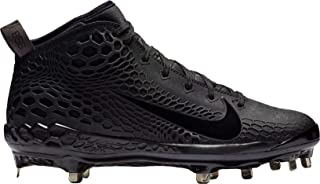 Nike Men's Force Air Trout 4 Pro Baseball Cleat (9,  Black)