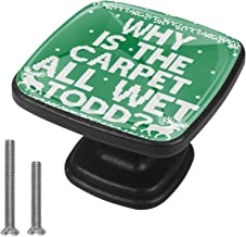 Keukenkast Knoppen - waarom is het tapijt All Wet Todd - Knoppen voor dressoir laden voor kast, kast, badkamer of kantoor...