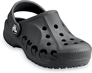 crocs Baya Boys Clog in Black
