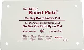 San Jamar CBM1016 Saf-T-Grip Board-Mate Nonslip Cutting Board Mat, 16