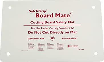 San Jamar CBM1016 Saf-T-Grip Board-Mate Nonslip Cutting Board Mat, 16