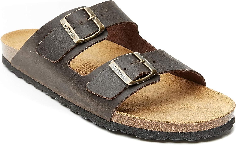 Mandèl Men's MD6016 Fashion Sandals Dark Brown (Di Mgold)