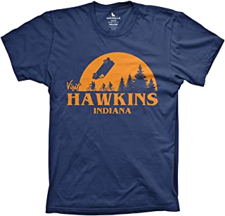 Visit Hawkins Indiana Shirt Funny Movie Tshirts Horror Early