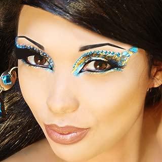 Pheonix Eye Art Jewels Fake Eyelashes Professional Temporary Eye Make Up Kit Xotic Eyes
