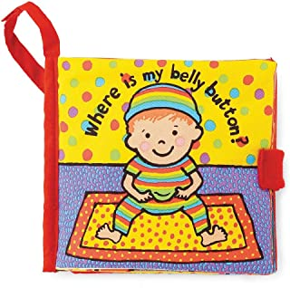 Jellycat Soft Cloth Books, Where is My Belly Button