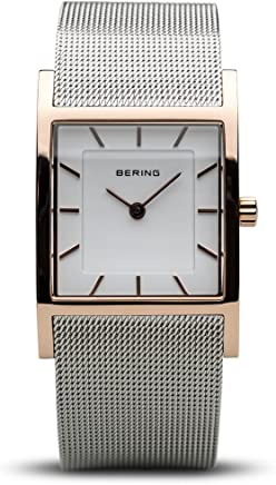 BERING Time 10426-066-S Womens Classic Collection Watch with Mesh Band and Scratch