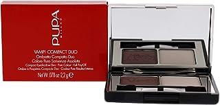 Pupa Milano Vamp! Compact Duo Eyeshadow - 006 Brown Vanilla For Women 0.078 oz Eye Shadow