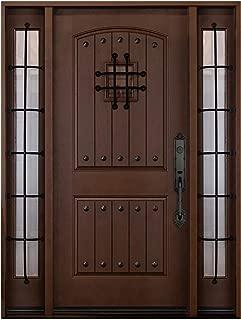 Fiberglass Entry Doors with Sidelights 2X 12