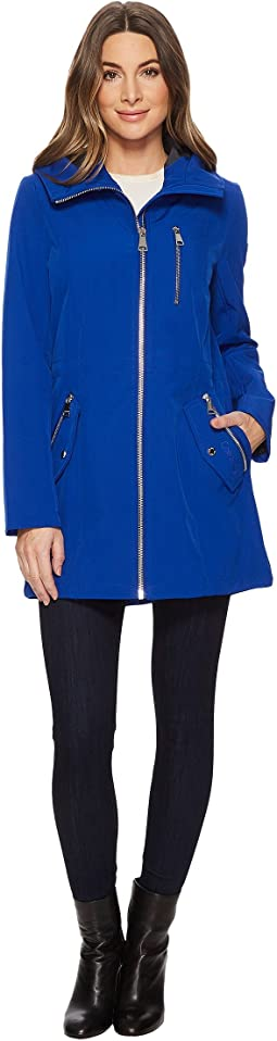 Softshell Anorak with Hood