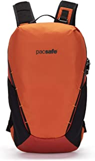PacSafe Venturesafe X18 Anti-theft Adventure Backpack, Burnt Orange Casual Daypack