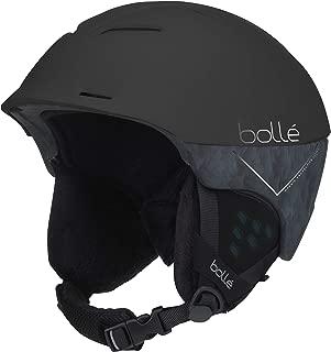 Bolle Synergy Ski Helmet,  Matte Black Forest,  52-54cm