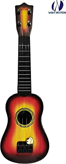 """WAH NOTION® 4-String Acoustic Enthusiasm Walnut Guitar Learning Kids Toy, Brown 18"""" Classic Model First Edition"""