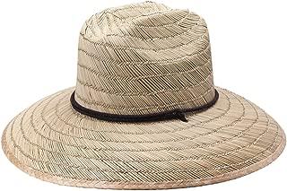 Natural Straw Costa Lifeguard Hat - Wide Brim Sunhat