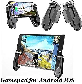 [f0vers] 荒野行動 PUBG Mobile コントローラー padとスマホ両用 PUBG MOBILE モバイルコントローラ ゲームパッドツール iPad用ホルダー アンドロイドIOS H2 ゲームパッド PUBG ホルダー モバイル ...