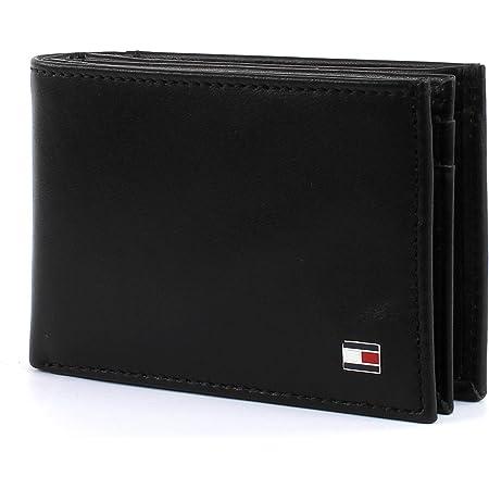 Tommy Hilfiger Eton Mini CC Flap & Coin Pocket, Cartera para Hombre, 11x7x2 cm (B x H x T)