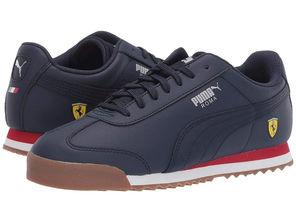 Puma Kids Ferrari Roma (Big Kid) (Peacoat/Peacoat) Boys Shoes