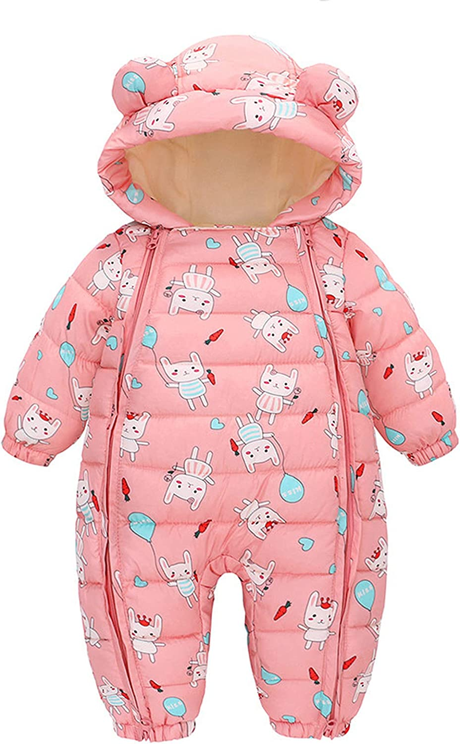 KONF Toddler Thicken Warm Coat Tops Hooded Bear Lowest price challenge Girl Boy Zipper Max 66% OFF