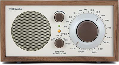 Tivoli Audio model One Am/ fm Table Radio, Classic/ Walnut, 2.4 Lb