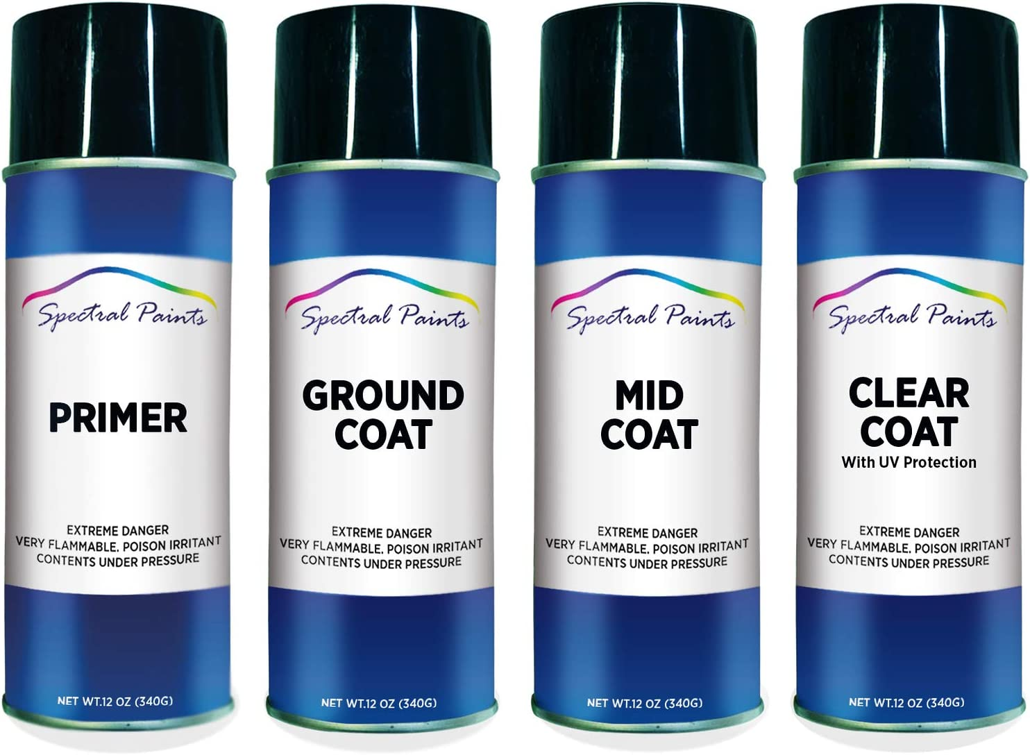 Spectral Paints Compatible Replacement Ranking TOP4 for Platinu UG Ford Outlet SALE White