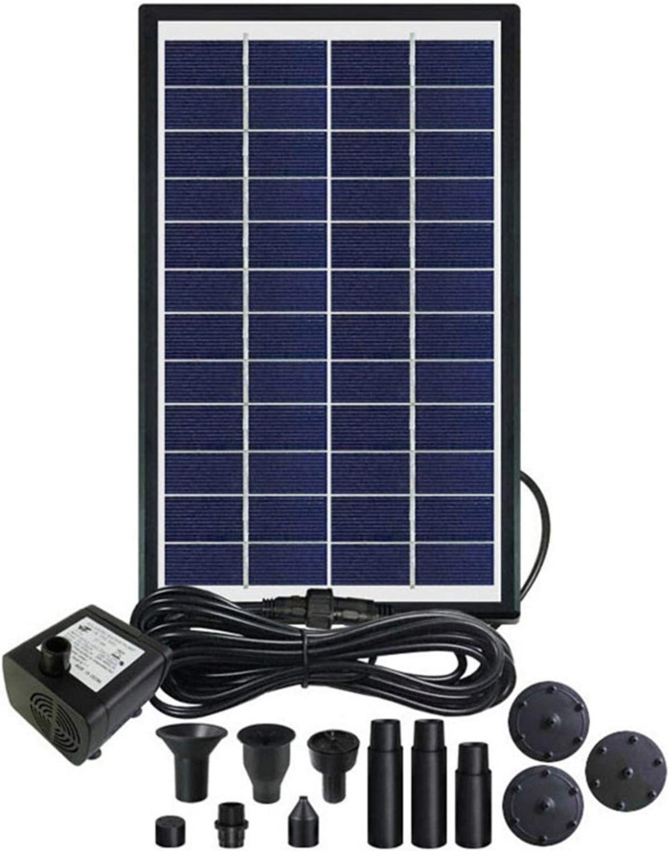 Spasm price riskaLa 6W Solar Fountain Pump overseas Powe Birdbath Kit